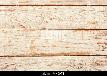 Abstract background of shabby textured surface of wooden panels in weathered blue paint. - Stock Image