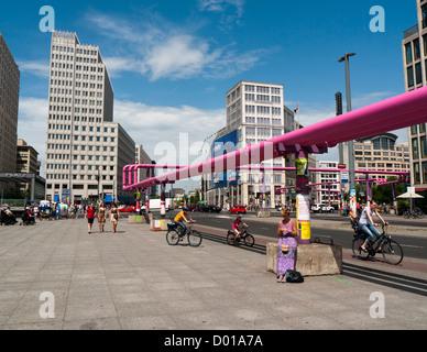 Potsdamer Platz in Berlin Germany - Stock Image