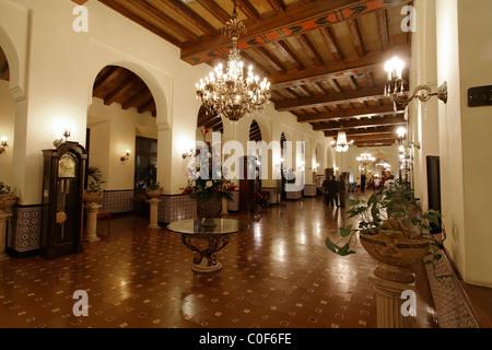 Hotel National Vedado, Lobby, Cuba - Stock Image