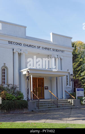 Christian Science Church, Second Church of Christ Scientist, on West 12th Avenue in Vancouver, BC, Canada - Stock Image