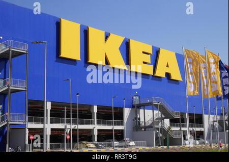 IKEA store, Salmabad, Kingdom of Bahrain - Stock Image
