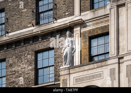 Sir John Soane's Museum, London, UK - Stock Image