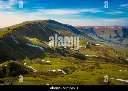 Mam Tor, Peak district, UK. - Stock Image
