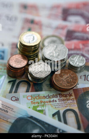 UK currency - Stock Image