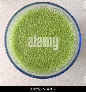 Spinach & Kale smoothie - Stock Image