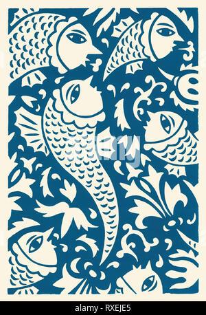 Go fish go - Stock Image