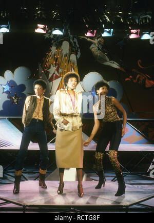 POINTER SISTERS US vocal trio about 1981 - Stock Image