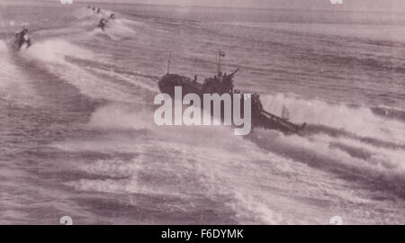 Red Army Torpedo Boats Baltic 1944 Russia - Stock Image