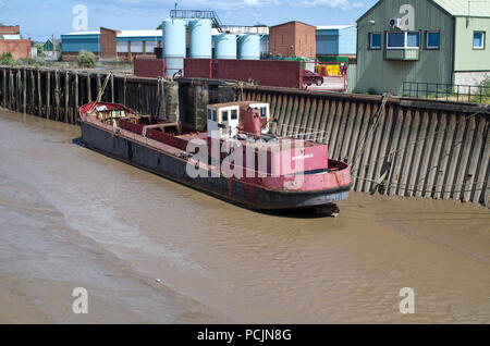 River Hull Kingston Upon Hull - Stock Image