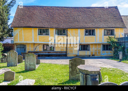 Almshouses St. Mary's Church, Henley On Thames, Oxfordshire, UK - Stock Image