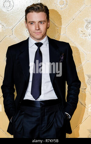 London, UK. 10th Dec 2018. Jack Lowden at Mary Queen Of Scots European Premiere on Monday 10 December 2018 held at Cineworld Leicester Square, London. Pictured: Jack Lowden. Credit: Julie Edwards/Alamy Live News - Stock Image
