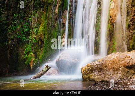 Waterfalls Hiking, Ferriere's Valley, Amalfi Coast, Italy - Stock Image