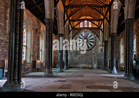 UK Winchester The Great Hall - Stock Image