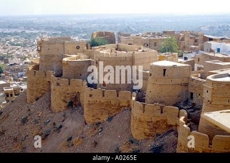 Jaisalmer Walled City, Rajasthan, India - Stock Image