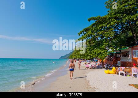 Hat Sai Khao, White Sands Beach, Ko Chang, Thailand - Stock Image