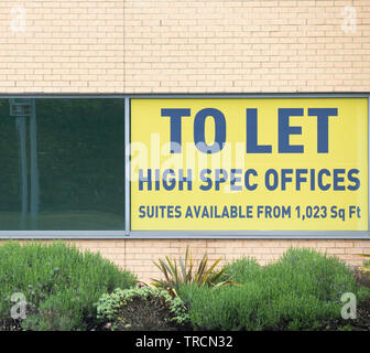 High spec offices to let. UK - Stock Image
