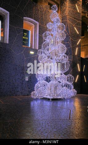 Christmas at Les docks du sud, Marseille, Provence, France - Stock Image