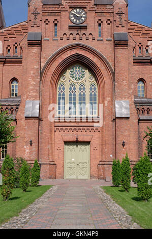 Tartu St Peter's Church of the Estonian Evangelical Lutheran Church. Tartu Estonia - Stock Image