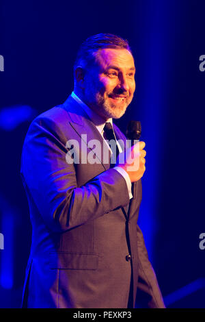 David Walliams hosting An Evening with Chickenshed at ITV Studios - Stock Image
