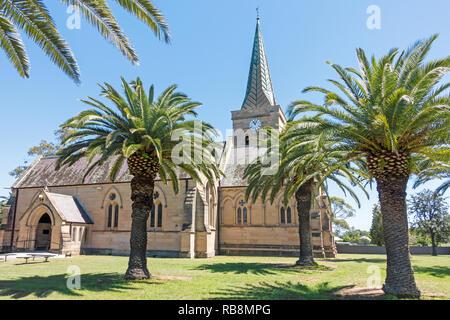 St Alban's Anglican Church, Muswellbrook,NSW Australia. - Stock Image