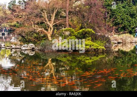 Garden Of Qing Nobleman Hangzhou China - Stock Image