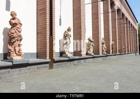 Historical Museum Frankfurt, at the Ršmerberg, Frankfurt am Main, - Stock Image