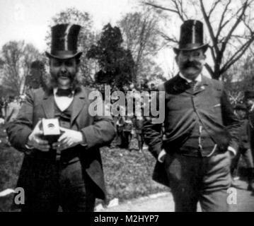 White House Easter Egg Roll, Amateur Photographer - Stock Image