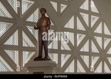 foyer sculpture at bangkok's museum of contemporary art - Stock Image