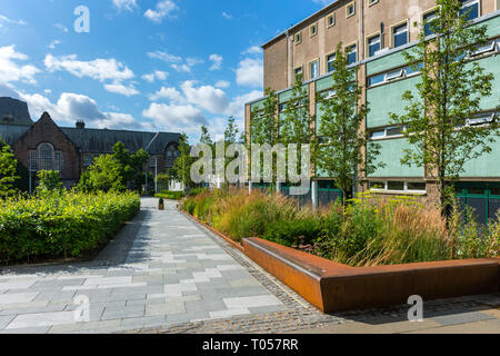 Thomson's Land, University of Edinburgh.  Off Canongate, Edinburgh, Scotland, UK - Stock Image
