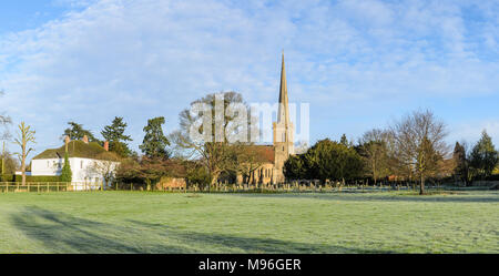 St Giles Church in Bredon, Worcestershire - Stock Image