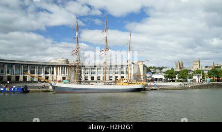 'Kaskelot' in Bristol's Floating Harbour -1 - Stock Image