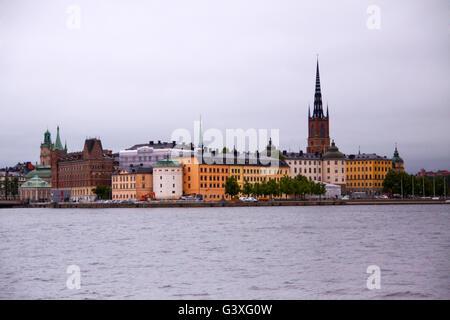 Stockholm Riddarholmschurch - Stock Image