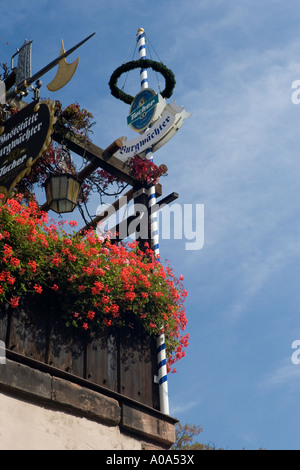 nuremberg flowers - Stock Image