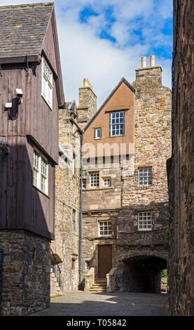 Bakehouse Close, off Canongate, Edinburgh, Scotland, UK - Stock Image