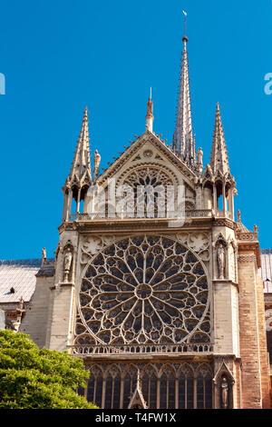 of Notre Dame de Paris, France - Stock Image