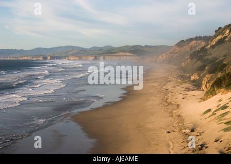 San Gregorio State Beach, San Mateo County coast, California, USA - Stock Image