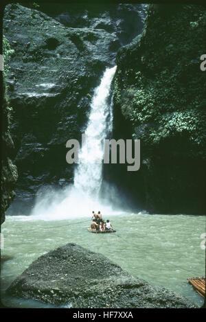 Pagsanjan Falls; near Manila, Luzon Island, Philippines. - Stock Image