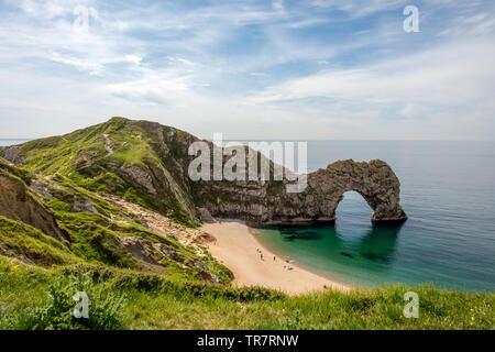 Durdle Door in Dorset - Stock Image