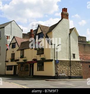 The Jolly Farmers Pub, Paradise Square, Oxford, Oxfordshire, UK - Stock Image