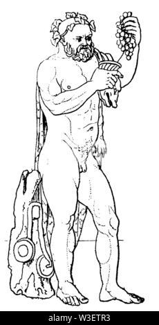 silen, ,  (cultural history book, 1875) - Stock Image