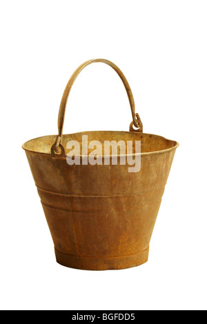 Rusty Bucket - Stock Image