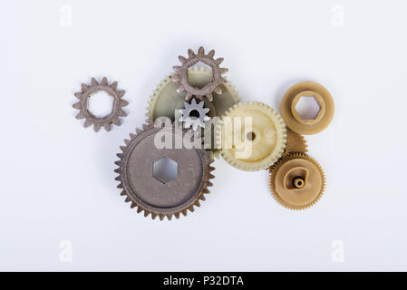 The Gear wheels - Stock Image