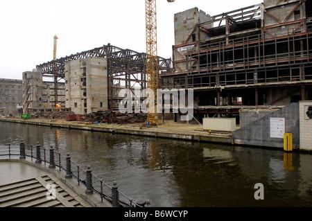 Palast der Republik Germany Berlin - Stock Image