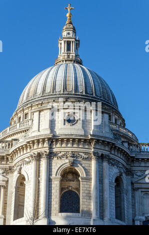 St Paul's Cathedral. London, UK - Stock Image
