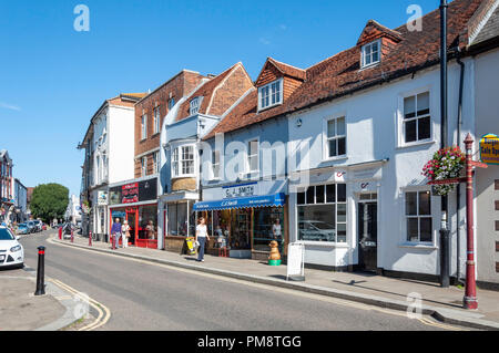 Guildford Street, Chertsey, Surrey, England, United Kingdom - Stock Image