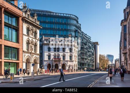 Amazon London Office, Sixty London; 60 Holborn viaduct, UK - Stock Image
