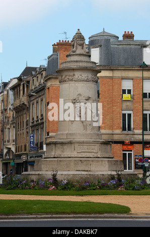 Monument to the First World War 1914-1918, Place Aristide Briand, Reims, Marne, Champagne-Ardennes, France. - Stock Image