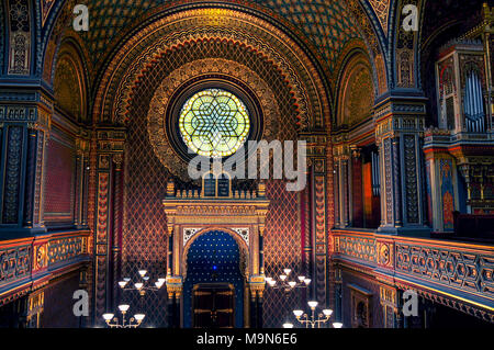 spanish synagogue - Stock Image