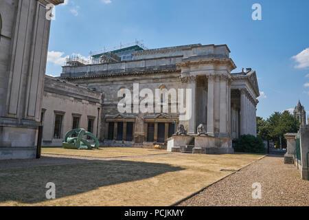 fitzwilliam museum cambridge - Stock Image