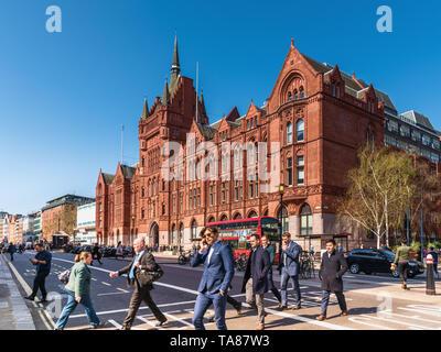 Holborn Bars, London, UK - Stock Image